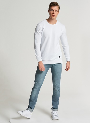Pi π Regular Jean Pantolon Gri